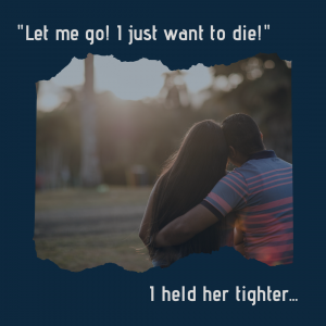 I just want to die - Recovery Warrior