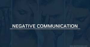 Negative Communication - In addiction and recovery