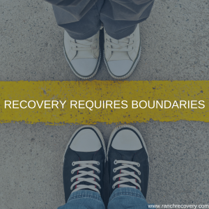Recovery requires boundaries
