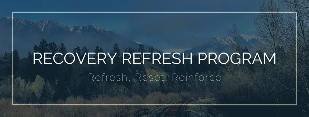 Recovery Refresh Program - Drug and Alcohol Rehab